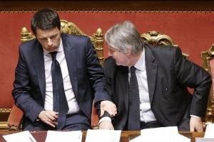 premier renzi e ministro lavoro poletti