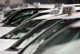 Uber foto di taxi