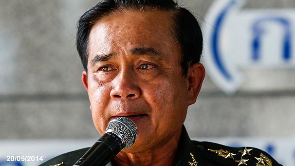 thailandia golpe