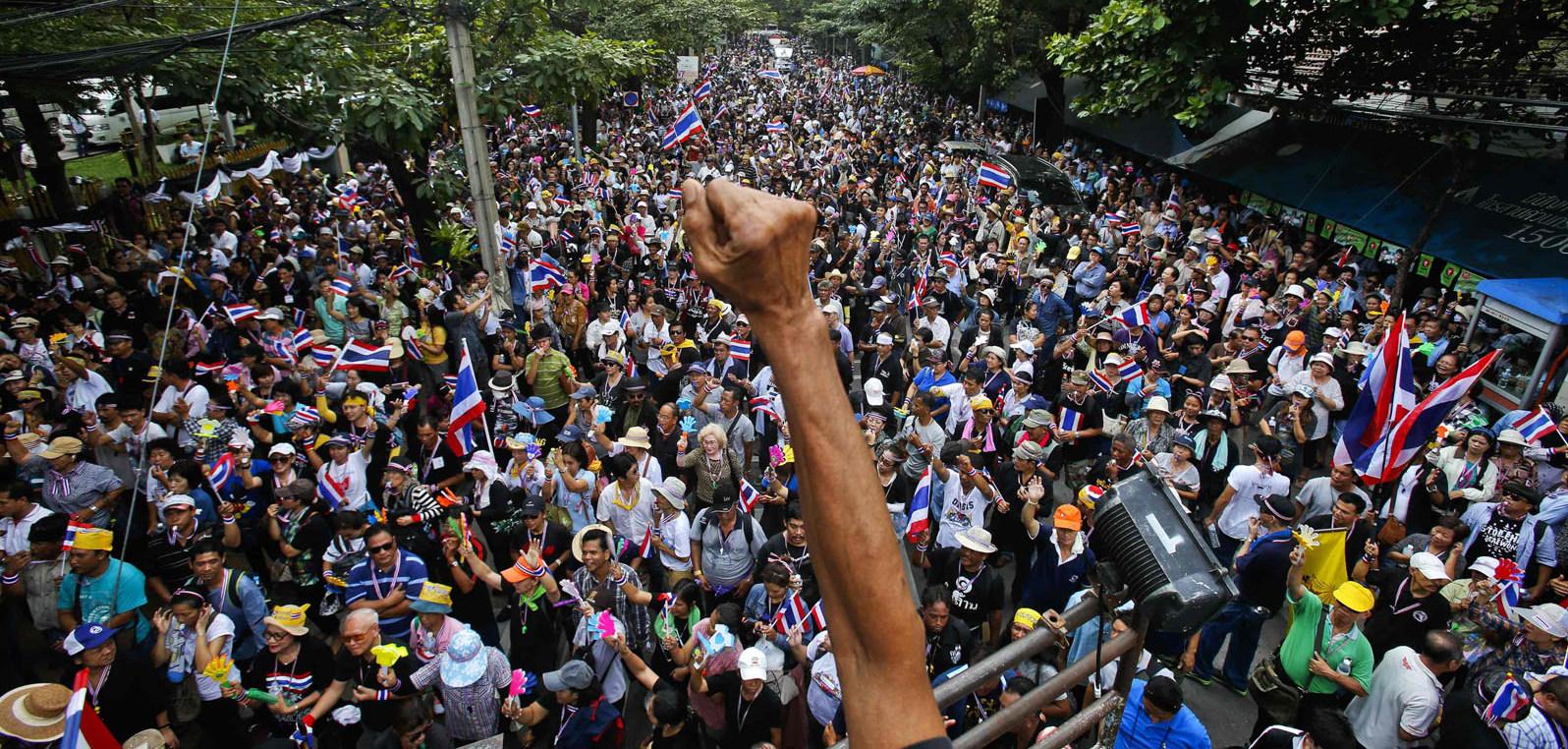 thailandia proteste