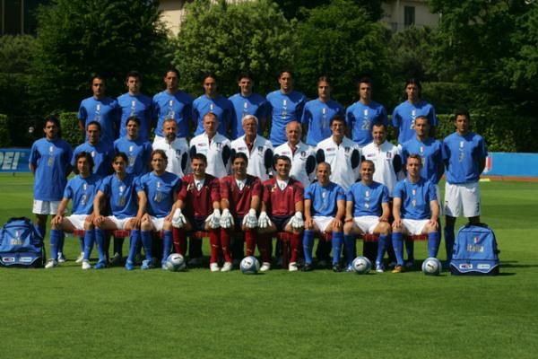 La Nazionale vincitrice nel 2006