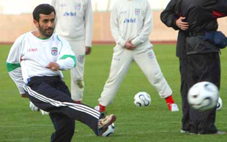 calcio ahmadinejad