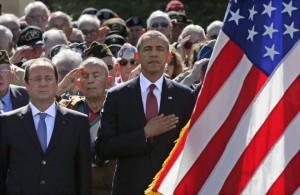 d day obama