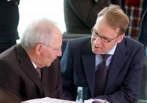 Wolfgang Schauble e  Jens Weidmann