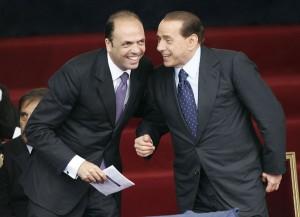 Alfano e Berlusconi: prove di riconciliazione in Sicilia