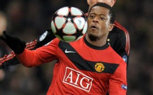 Evra col Manchester United