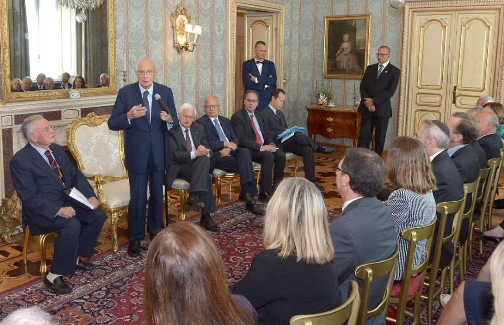 L'incontro di oggi tra Napolitano e la delegazione del CNB