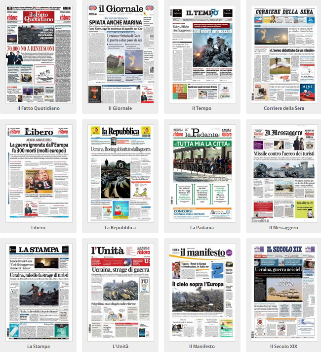 giornali 1
