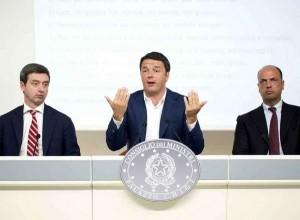 Renzi: �Falso in bilancio torna reato, magistrati che sbagliano pagano�