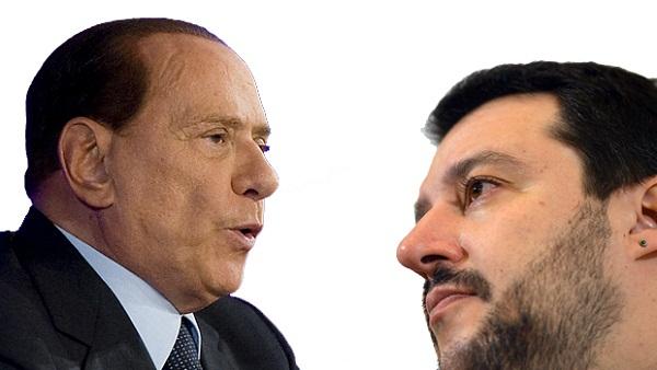 salvini attacca berlusconi assolto perche accondiscendente col governo renzi