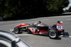 Verstappen al volante della sua Dallara in Formula 3