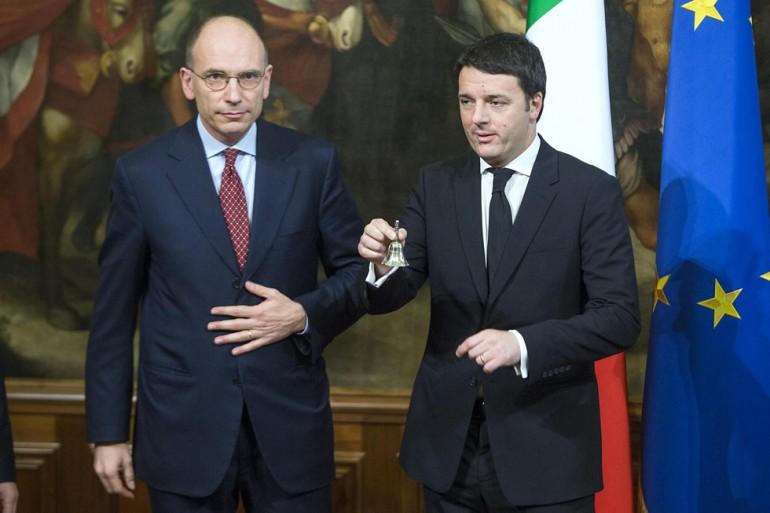 letta renzi economia italia