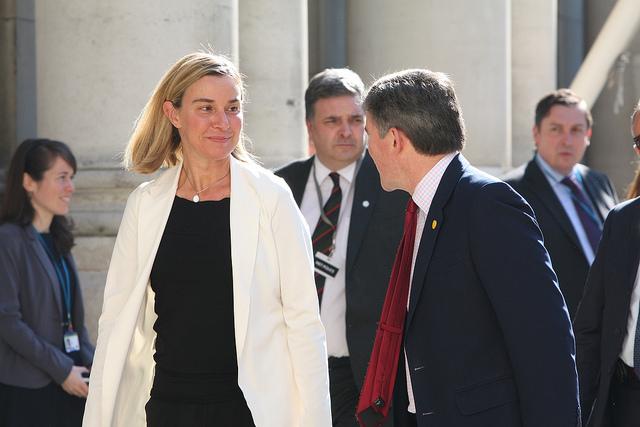Financial times federica mogherini presto sar mrs pesc for Chiave bulgara prezzo