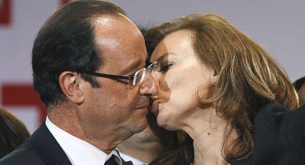 Francois Hollande Valerie Trierweiler