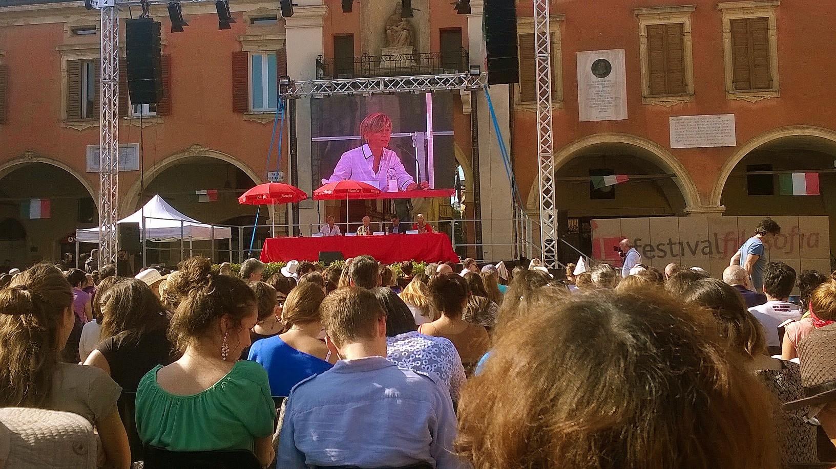 pubblico Sassuolo festival filosofia 2014
