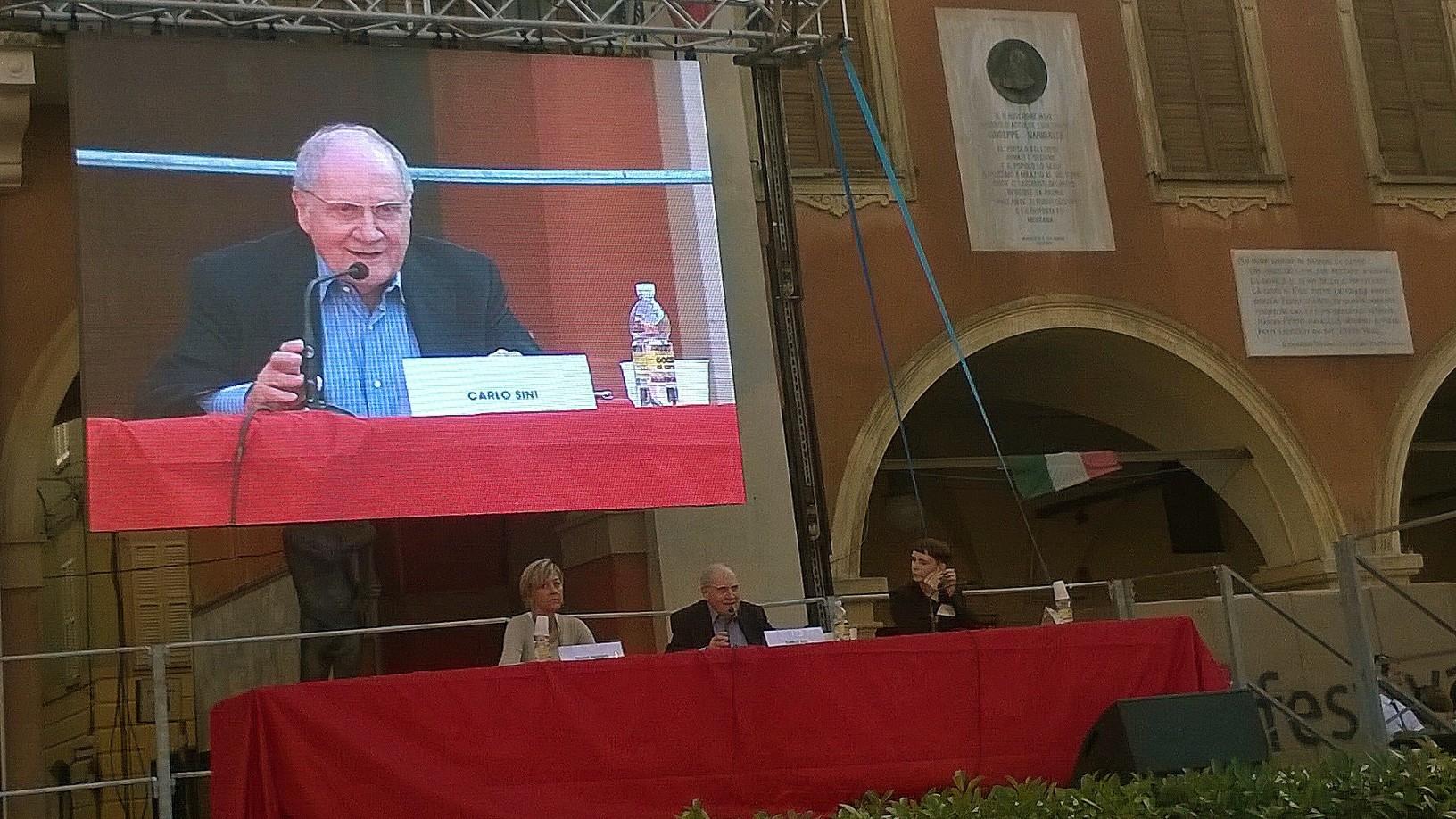 Carlo Sini festival filosofia Sassuolo 2014