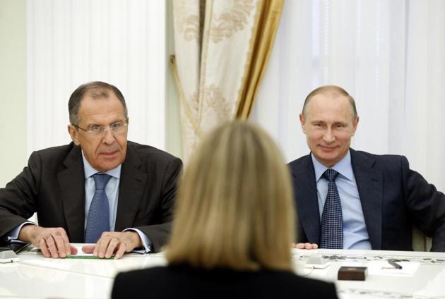 cremlino putin mogherini