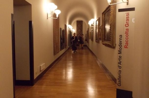collezione grassi vismara, galleria arte moderna milano