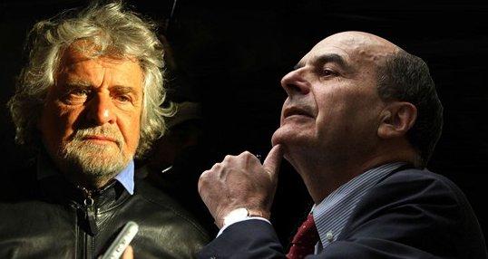 grillo bersani renzi minoranza pd lavoro articolo 18