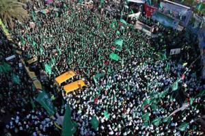 Manifestazione di Hamas