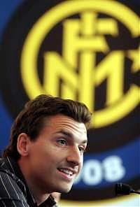 Ibrahimovic firmò per l'Inter nel 2008 arrivando a guadagnare 12 milioni a stagione.