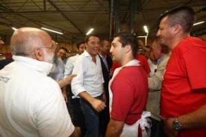 Matteo Renzi a festa dell'unita' di bologna - foto nucci benvenuti