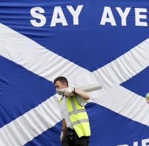 Questione palestinese e Scozia indipendente