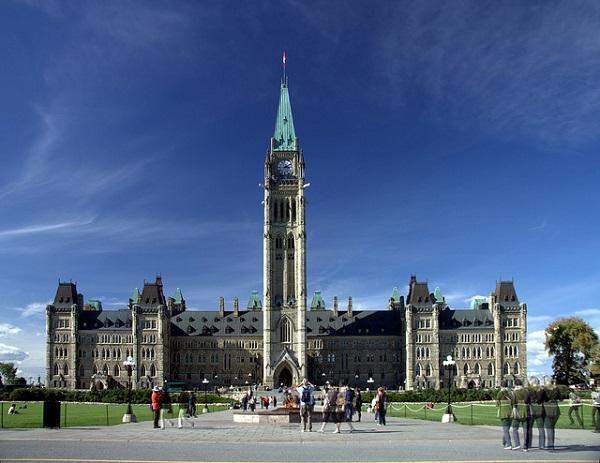 Ottawa, la sede del Parlamento