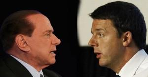 Berlusconi, asse con Renzi su immigrati e unioni gay