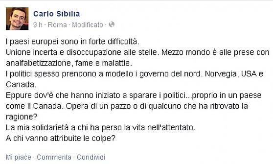 carlo sibilla m5s