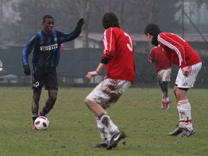 Donkor, difensore ghanese dell'Inter classe 1995