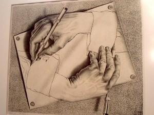 Escher, il rigore onirico in mostra a Roma