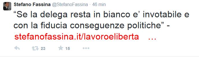 fassina twitter jobs act