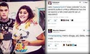 Su Twitter scoppia caso Gasparri che insulta una ragazza Reazione del senatore �Sono stato insultato�