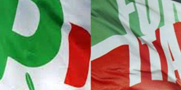 pd e forza italia con pochi iscritti e molti debiti