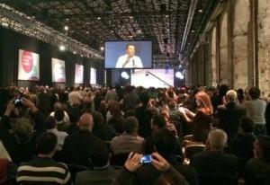 Leopolda 5, Renzi: parla l�Italia che crea posti di lavoro