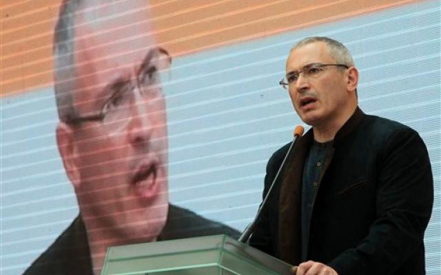 russia putin Khodorkovsky