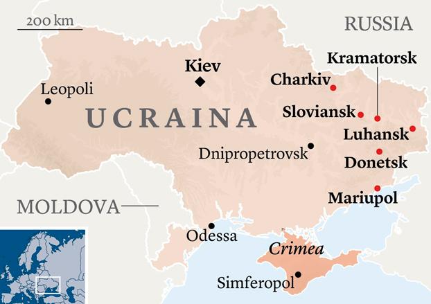 ucraina kiev russia mariupol donetsk