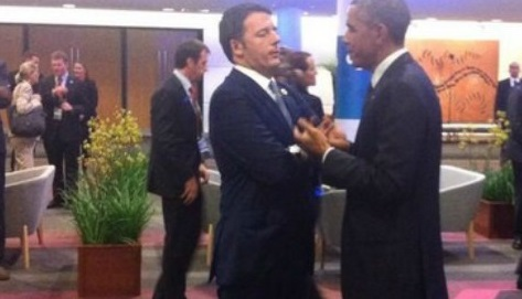 con obama renzi g20