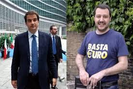 Scontro Fitto Salvini, la sfida nel centrodestra � anche Nord vs Sud