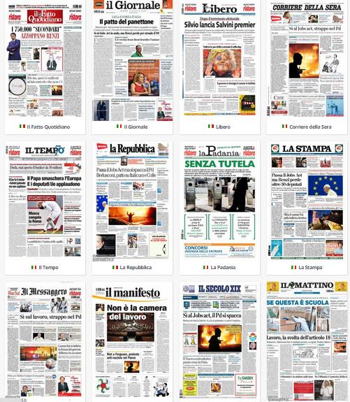 Rassegna stampa la camera approva il jobs act pd spaccato for Rassegna camera