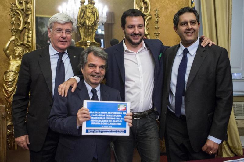 salvini e forza italia