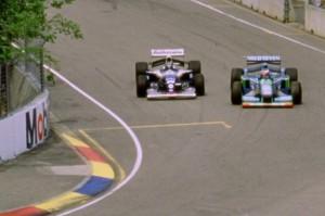 Schumacher è pronto a chiudere la traiettoria di Damon Hill