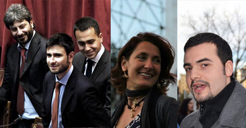M5S vice grillo Movimento 5 Stelle