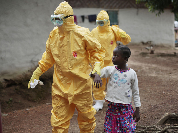 ebola fighters africa