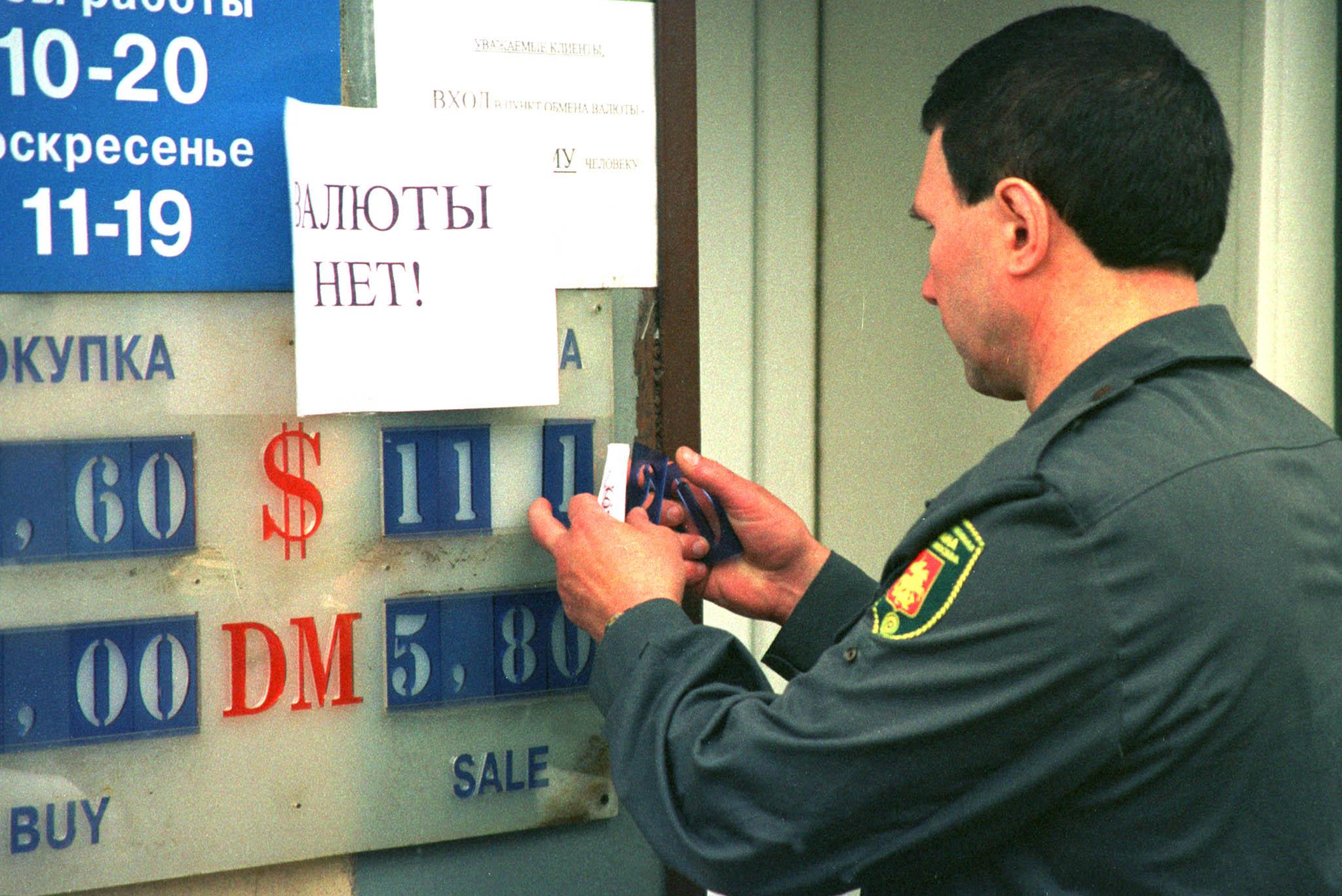 emergenza rublo russia