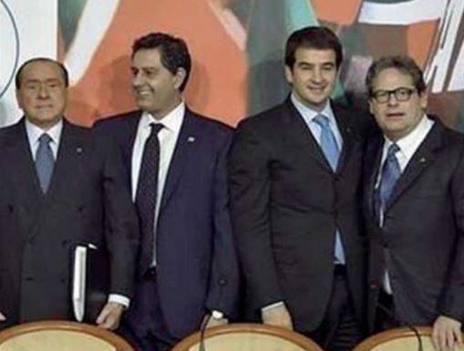 scontro in forza italia