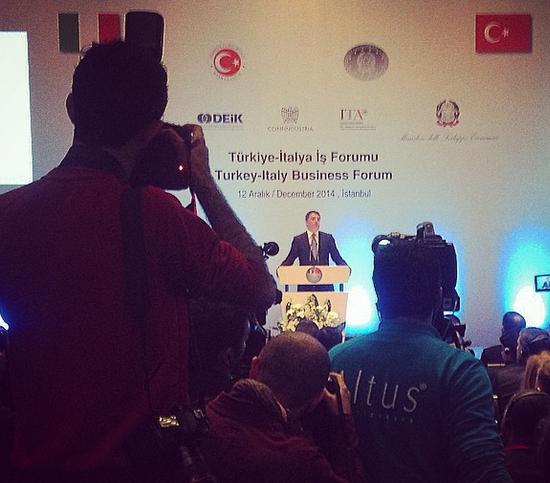il discorso di renzi in turchia