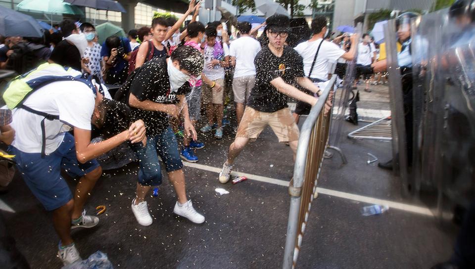 proteste hong kong studenti
