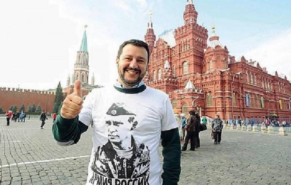 Salvini in Russia